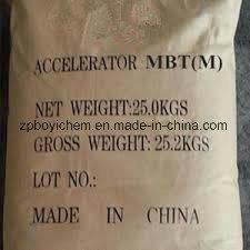 Rubber Accelerator (2-Mercaptobenzothiazole) Mbt (M) for Rubber Belt