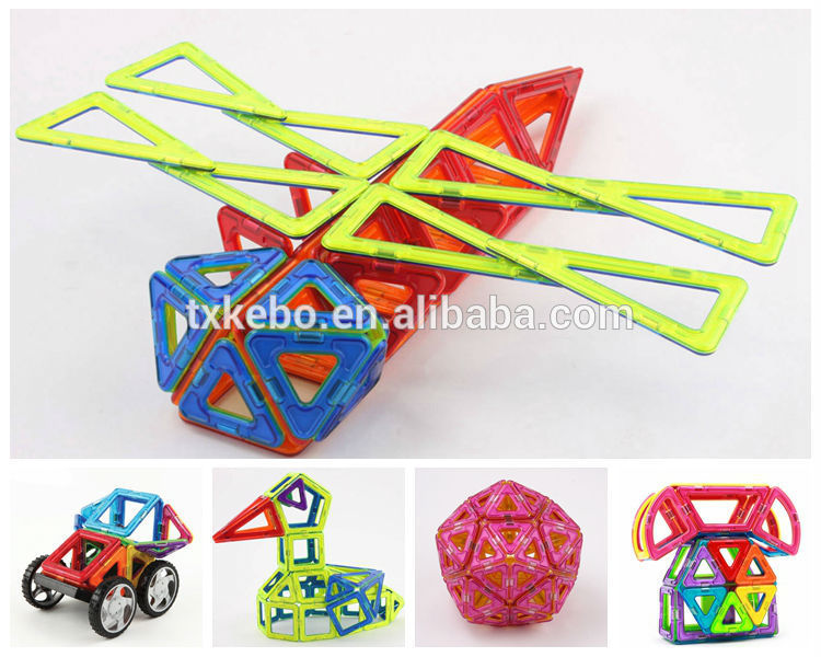 Educational Magnetic Building Brick Toy