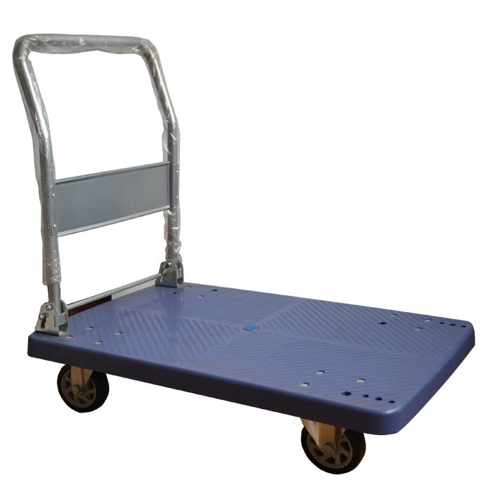 Plastic Platform Hand Cart with Four Wheel pH300