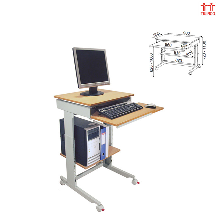 Factory Supply White Office Desk Made in China Compuer Table Workstation