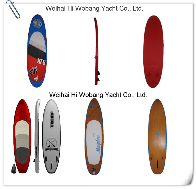 Wood Color Paddle Board Isup Boards Bamboo Pattern Sup