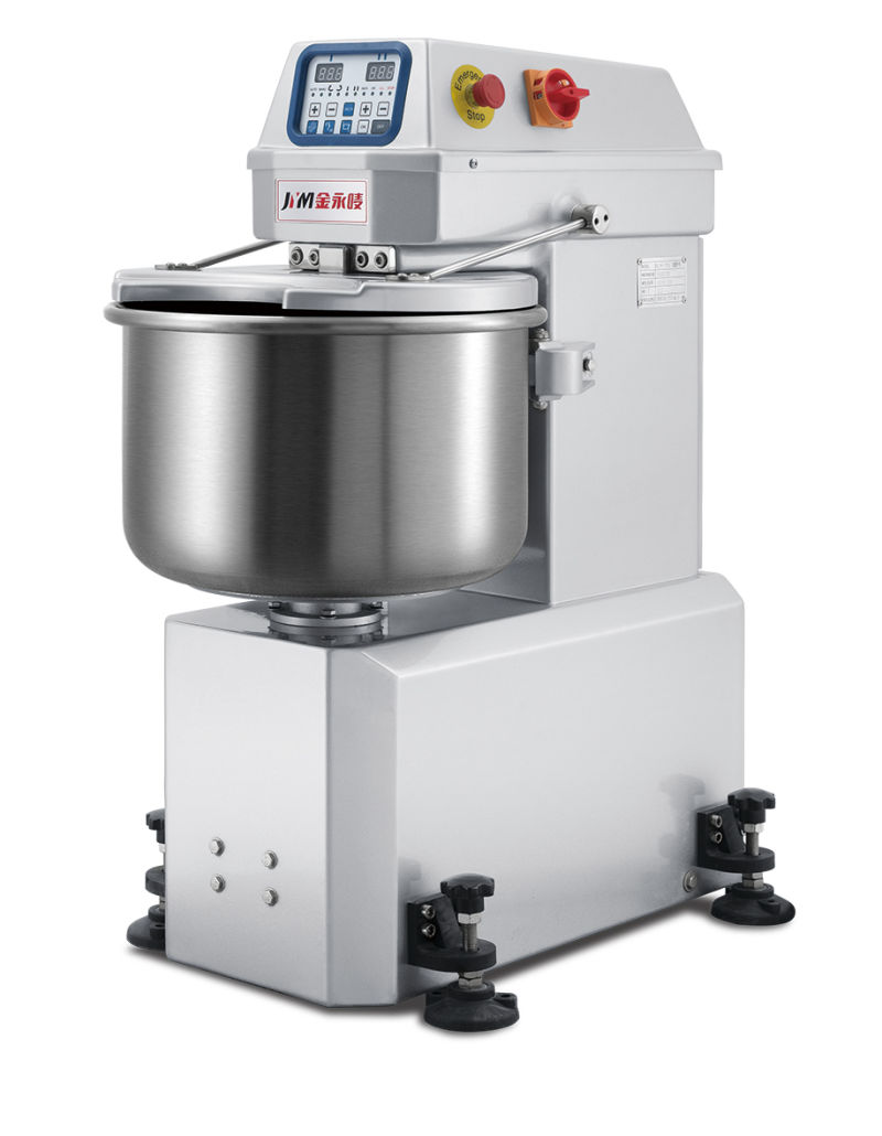 High Quality 25kg Spiral Mixer Food Machine