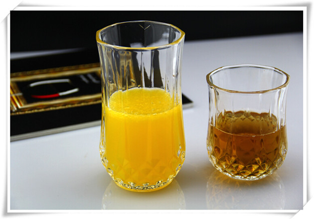 Transparent Lead Free Crystal Whisky Glass Cup
