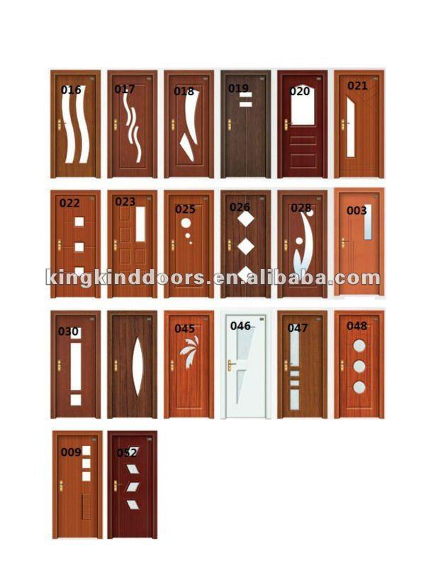 Cheap Price Mdf Door Pvc Door Jkd 8056 Bathroom Door And Bedroom Door Design China Manufacturer