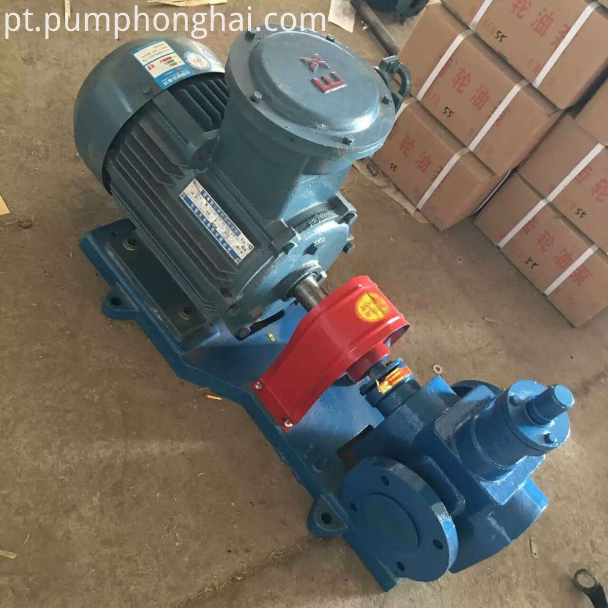 YCB cast iron material oil transfer pump
