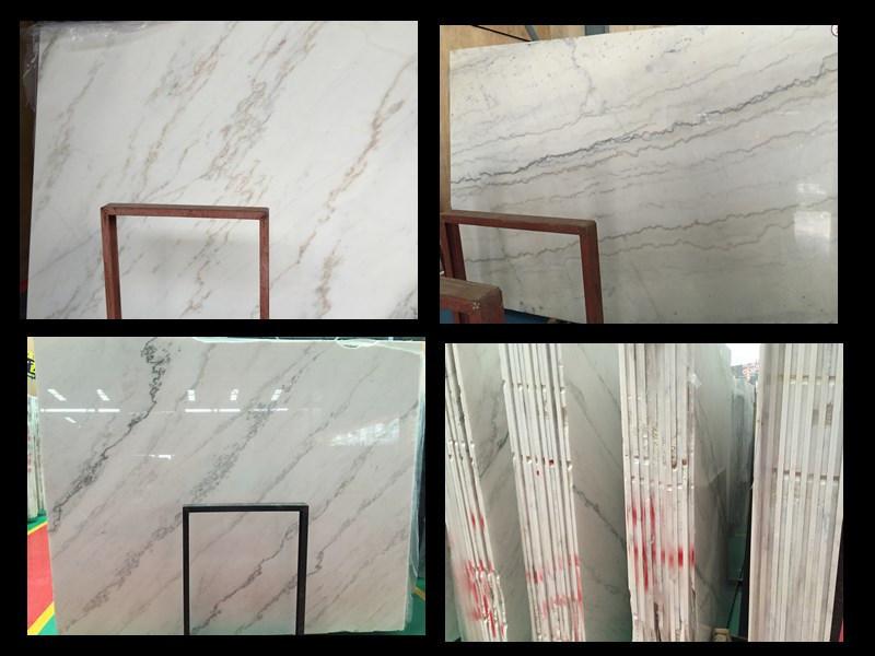 White/Black/Beige Stone Quartz, Marble, Granite Slab for Countertop and Flooring Project