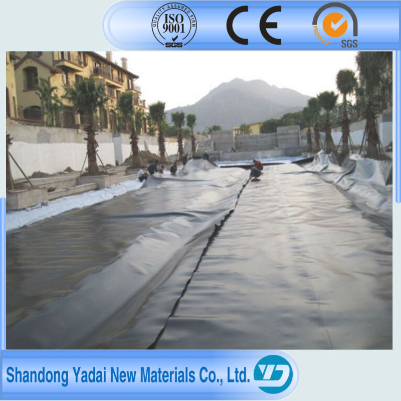 HDPE Geomembrane Impermeable Membrane for Ouchi Fish Pond Liner, Aquaculture, Turtle Breeding