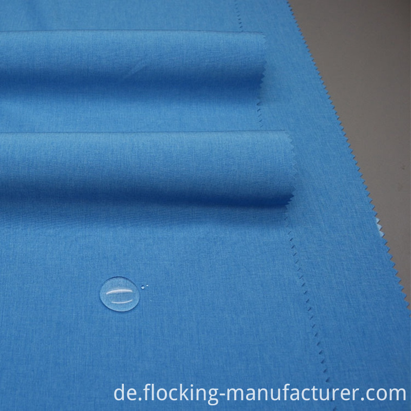 Waterproof 95% N 5% Sp 4 Way Spandex Fabric