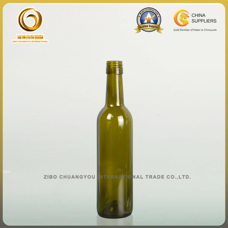 Classic Wholesale High Quality 375ml Bordeaux Wine Bottle (307)