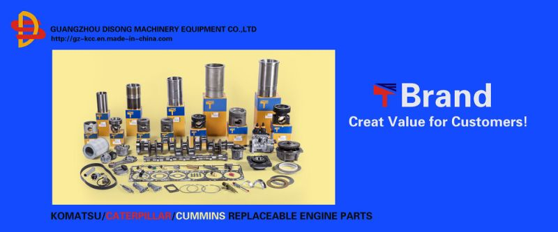 Komatsu Excavator Spare Parts, Engine Parts, Fuel Outlet Valve