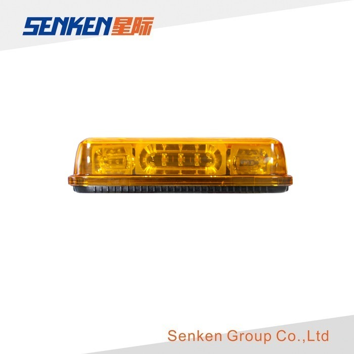 SAE 12V/24V Magnetic 24W Geen LED Mini Lightbar for Car