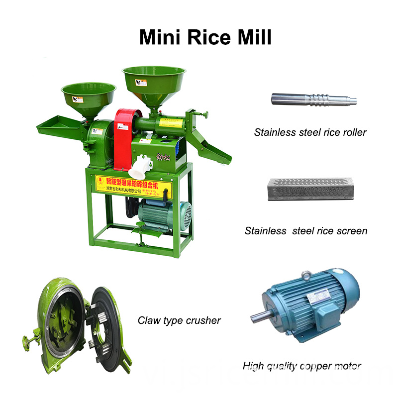 Agricultural Rice Mill Machine
