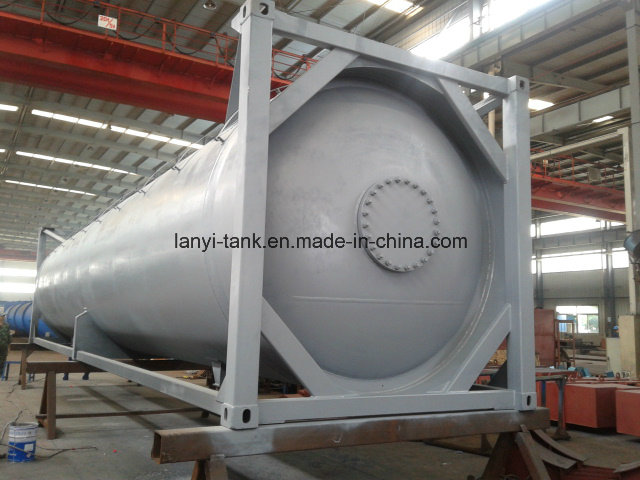 38000L 30FT Carbon Steel Tank Container for Chemicals Gas, Fuel Appvoed by Lr, ASME