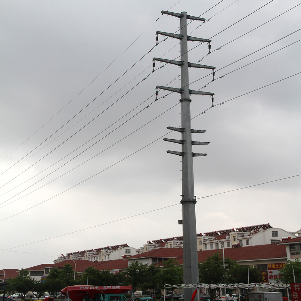 Best High Voltage Steel Made Electrictransmission Tower Pole
