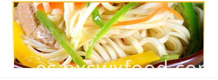 Noodles Without Additives
