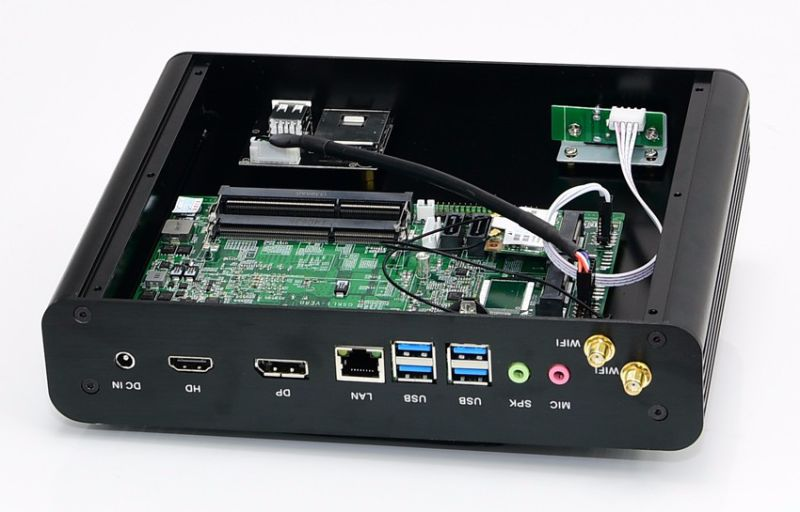 Newest 7th Generation Fanless Mini PC Core I5 7200u I3 7100u Intel HD Graphics620 14 Nm Wind10 Barebone 4k HTPC Mini Desktop