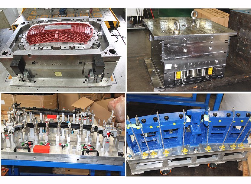 Plastic Food Packaging Container Bucket Injection Mould