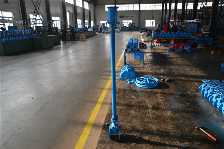 Buried Resilient Seat Gate Valve