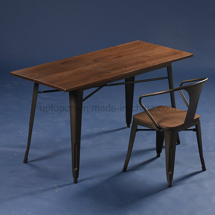 Vintage Cafe Used Jean Pauchard 55 Tolix Tables (SP-CT676)