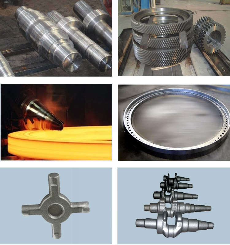 Alloy Steel Large Forging Spur Pinion Gear Match with Ring Gear