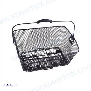 Steel Wire Bicycle Basket with Quick Release