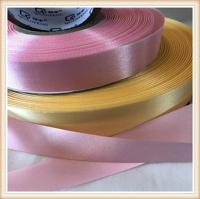 Hot Sale High Quality Wholesale Polyester Colorful Satin Grosgrain Ribbon