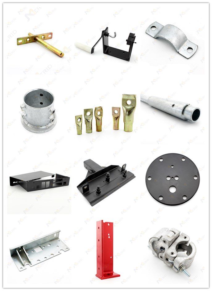 OEM Welding Bracket Part for Environmental Protection Recycle Bin