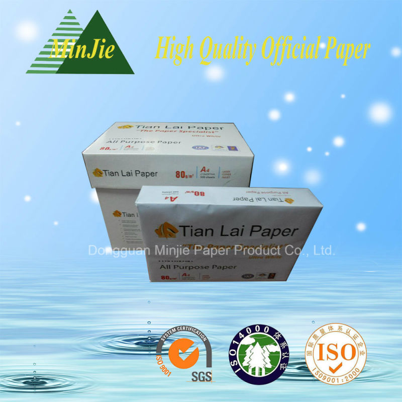 Best Quality Copy Paper Supplier A4 Paper 80GSM
