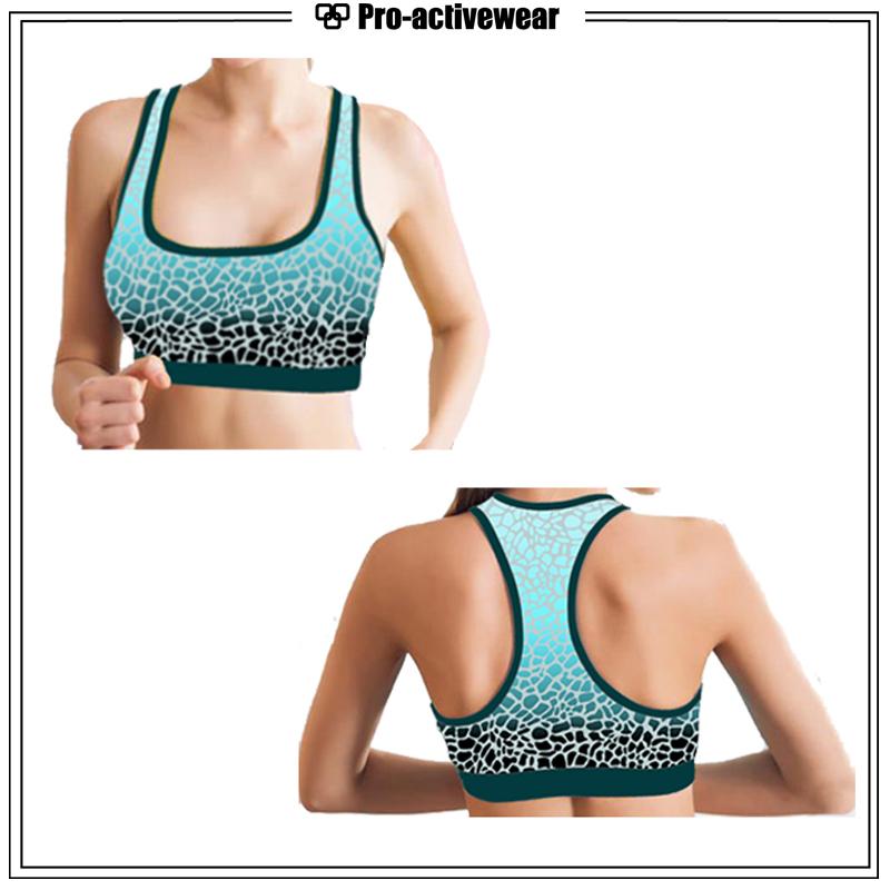 OEM Women Custom Sexy Dri Fit Fitness Sports Bra