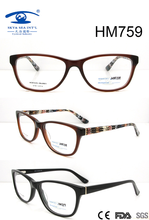 New Hot Sale Acetate Eyewear (HM759)