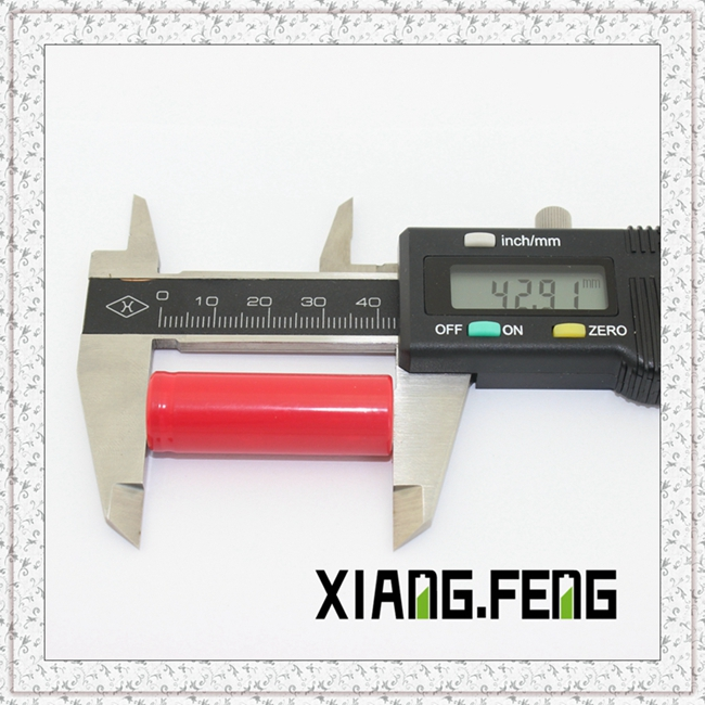 3.7V 14430 Battery 550mAh 3A Discharge Li Ion battery
