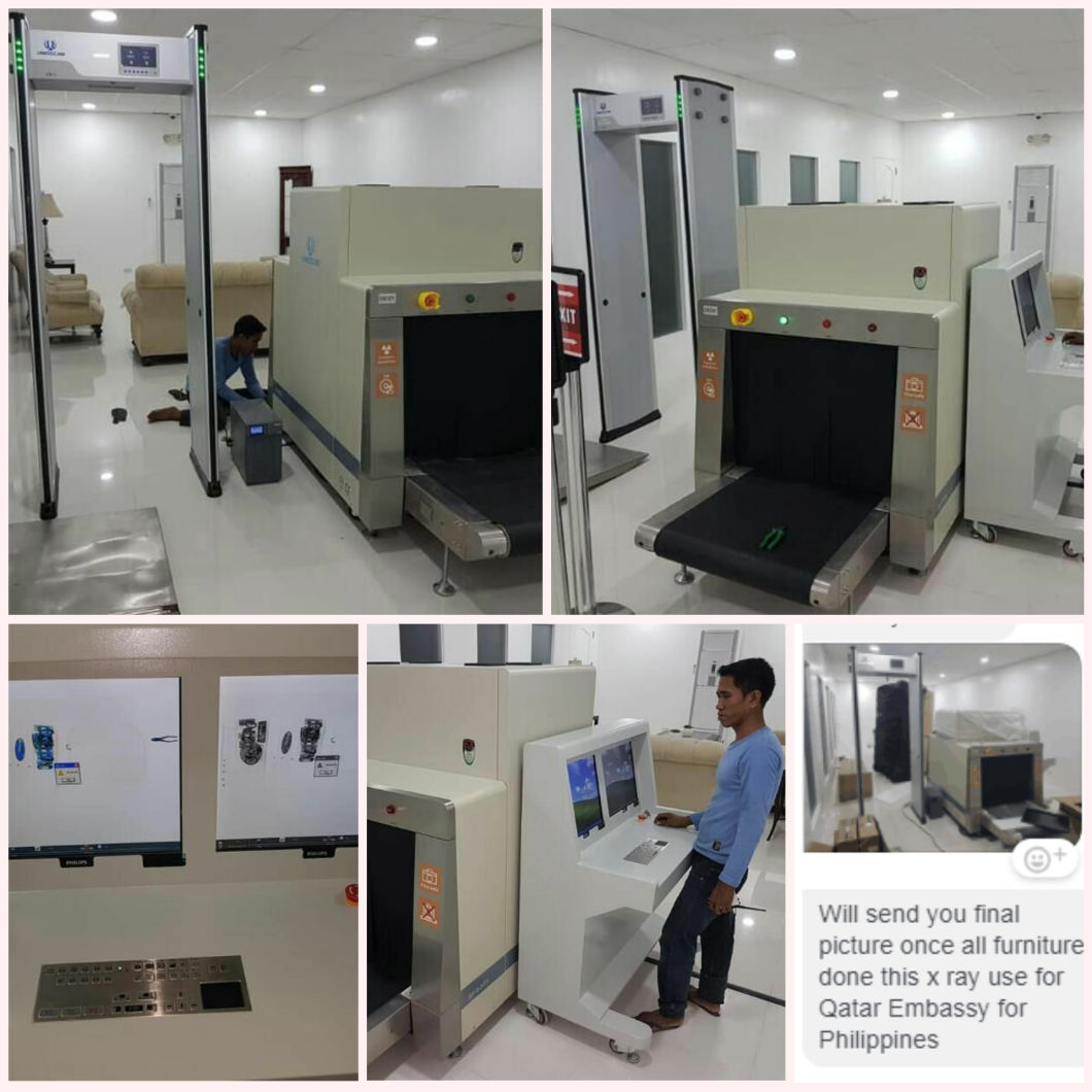 Uniqscan Sf8065 X-ray Inspection System for Large Baggage Screening