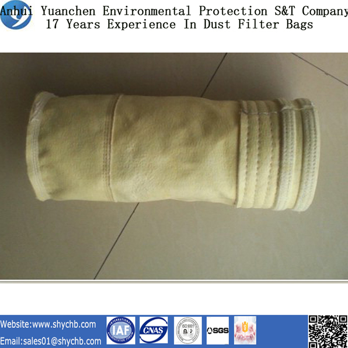 Nonwoven Needle Punched Filter Water and Oil Repellent Fms Dust Filter Bag for Industry