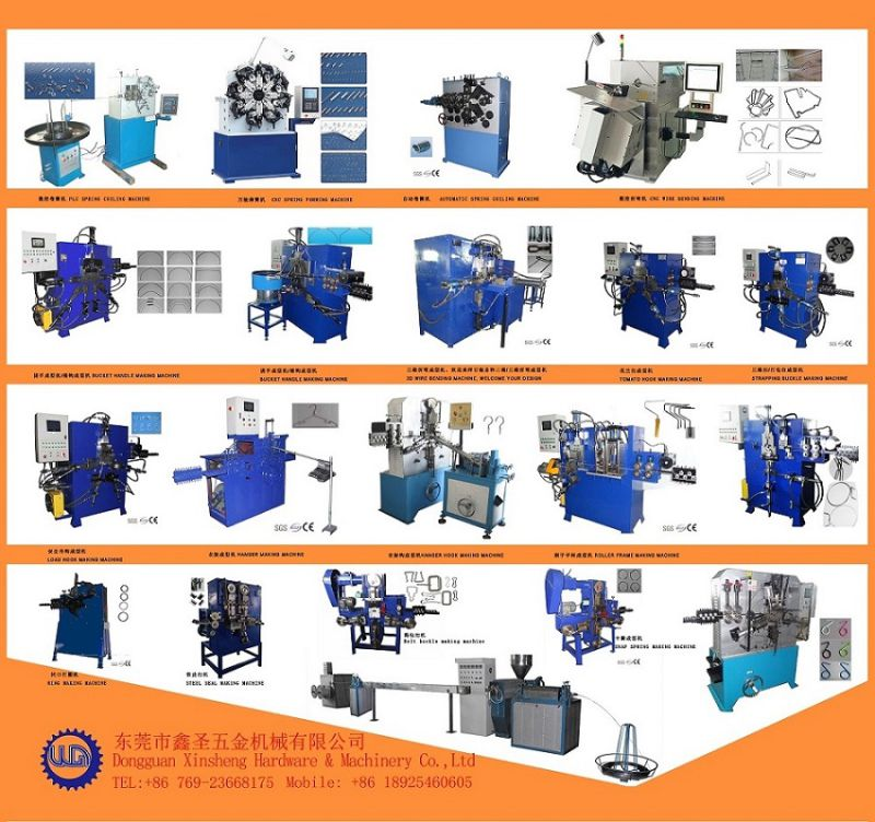 Cord Strapping Buckle Making Machinery 2016