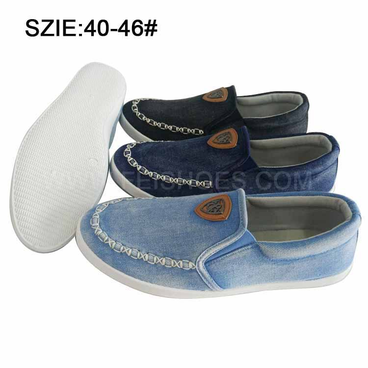New Style Fashion Men's Slip on Casual Shoes Jean Shoes (MP16721-9)
