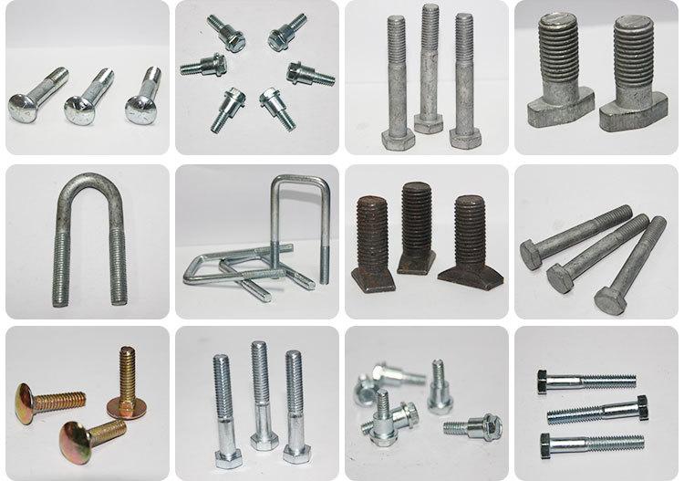 Customized Design Cast Iron Engine Cylinder Head Bolt Iron Casting Bolt