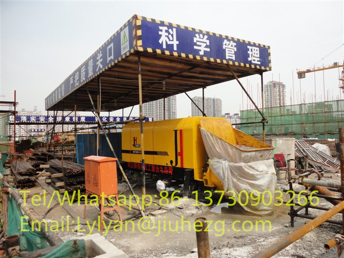 Stationary Concrete Pump Mini Concrete Pump for Sale with Best Price and High Quality