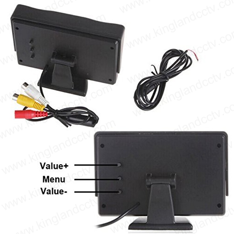4.3 Inch TFT LCD Car HD Screen Automobile Rear View Monitor