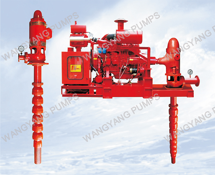 Diesel Engine Deep Well Fire-Fighting Water Pump