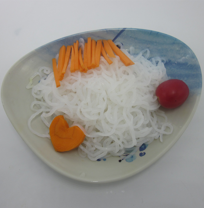 Carrot Konjac Spaghetti. Konjac Noodles
