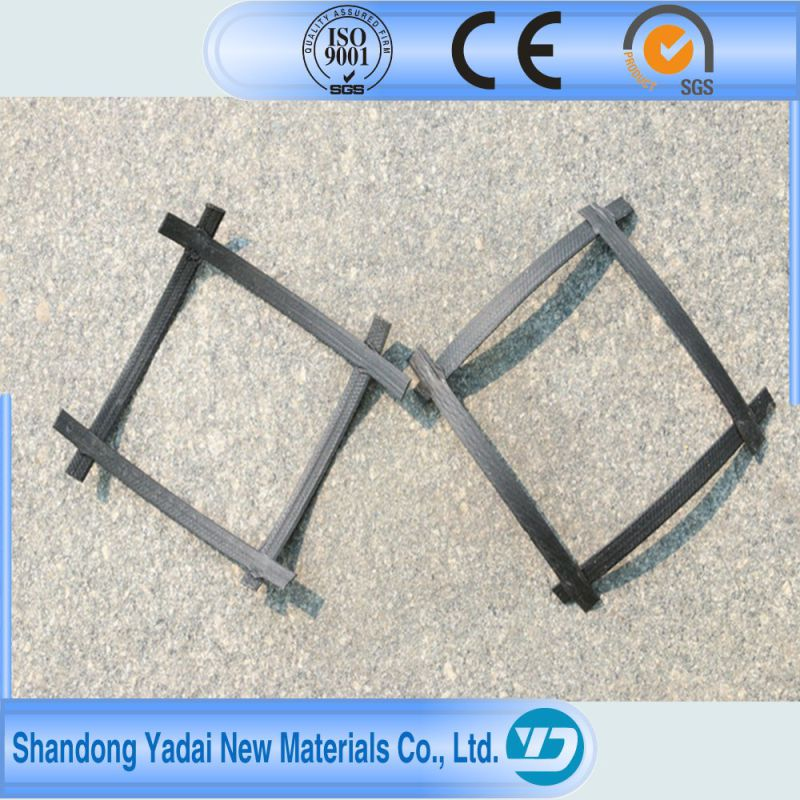 Low Price Reinforcement Pet Geogrid with Ce for Road Construction