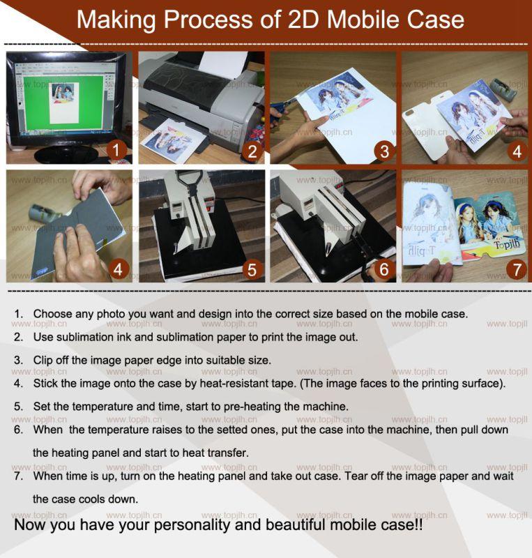 Heat Transfer Printing Bulk Mobile Phone Case for One Plus 2