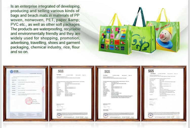 Printed Woven Bag (KLY-PP-0211)