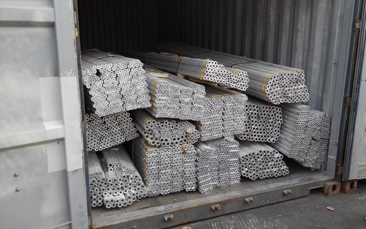 Cold Drawn Aluminum Rectangular Tube 5A06 O for Marine