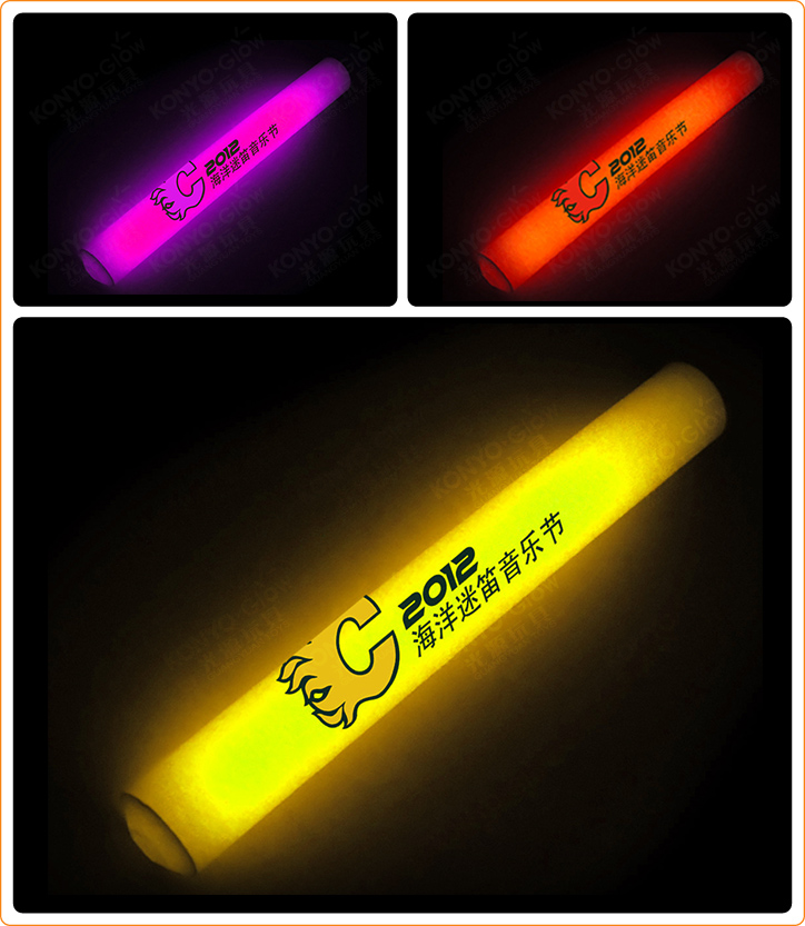 Design Printing Glow Foam Stick for Party
