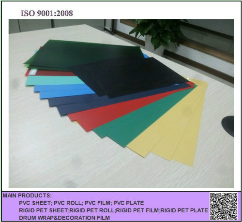 Matt or Glossy Surface Color Rigid PVC Sheet for Christmas Tree Decoration
