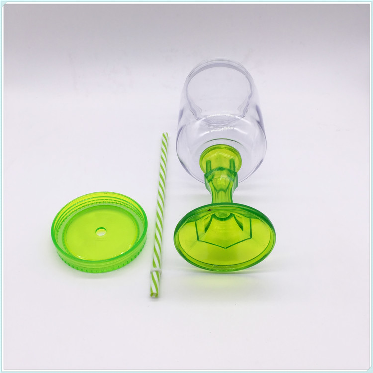 Popular High Quality 720ml Transparent Pet Disposable Plasti Cup Juice Cup