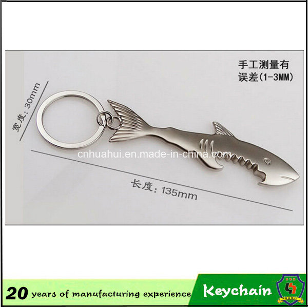 Sharp Shape Bottle Opener Keychain