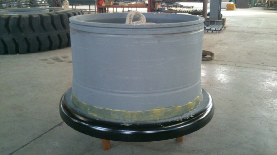 Steel Mold on Rim for Solid Tire