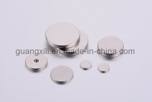 N50 Round ND-Fe-B Magnets for Sensors